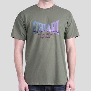 ButtSwallowing Brain Dark T-Shirt