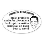 Presidential Accomplishments (Oval)