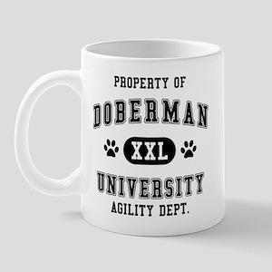 Property of Doberman Univ. Mug