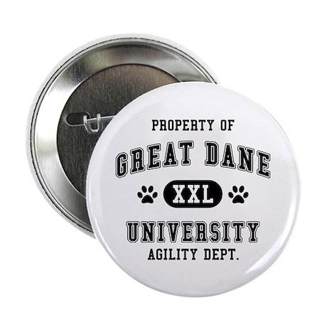 "Property of Great Dane Univ. 2.25"" Button (100 pac"