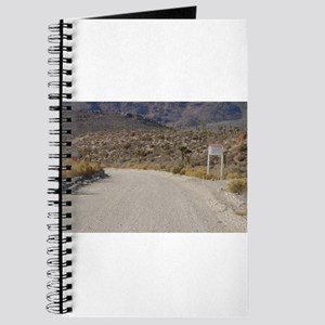 Groom Lake Road Warning Signs Journal