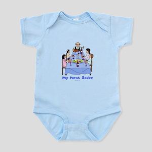 First Seder Jewish Kids Infant Bodysuit