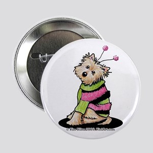 "Love Bug Cairn 2.25"" Button"