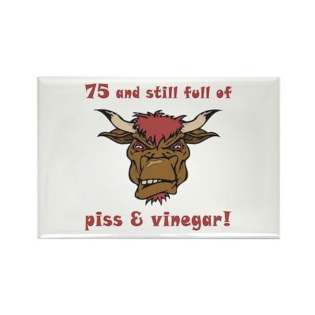 75 Piss & Vinegar Rectangle Magnet (10 pack)