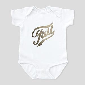 Fame - Fail gold Infant Bodysuit