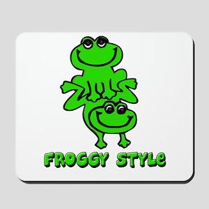 Froggy style Mousepad
