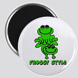 Froggy style Magnet