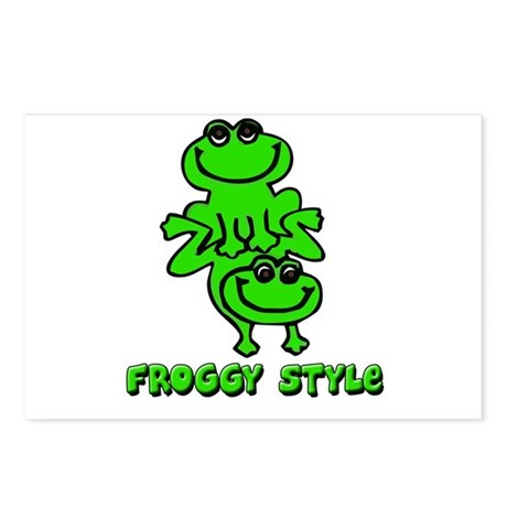 froggy style postcards package of 8 by megdania