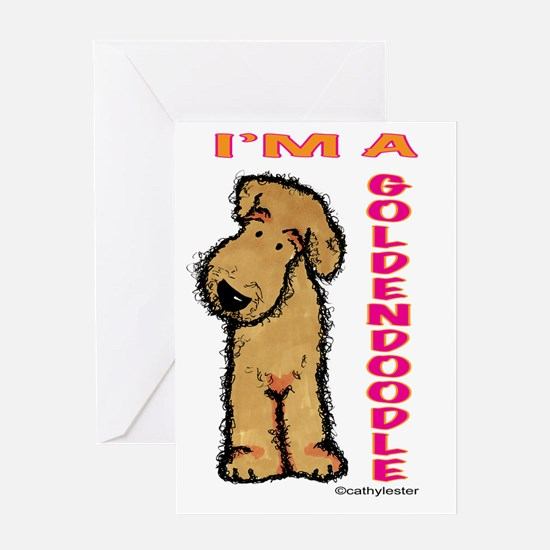 I'm a Goldendoodle Greeting Card