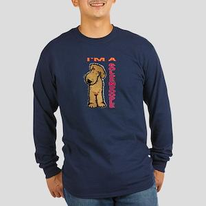 I'm a Goldendoodle Long Sleeve Dark T-Shirt