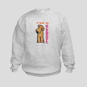 I'm a Goldendoodle Kids Sweatshirt