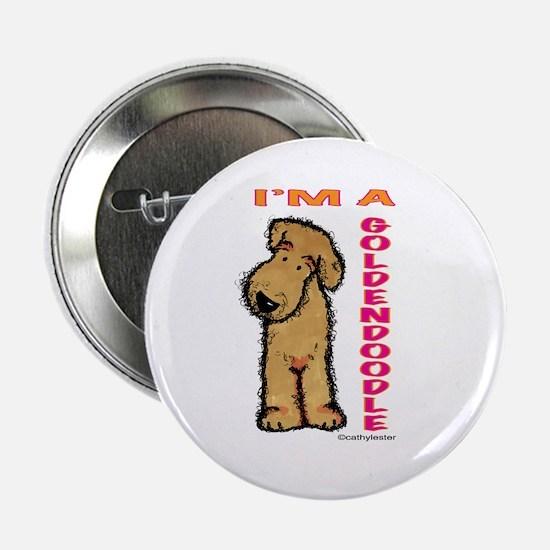 """I'm a Goldendoodle 2.25"""" Button"""