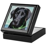 Black Labrador Dog Keepsake Box