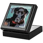 Black Lab Dog Keepsake Box