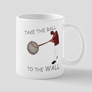Take the Ball to the Wall Mug