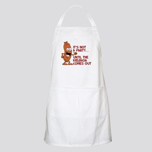 It's Not A Party Without Kielbasa Apron