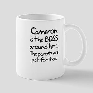 Cameron is the Boss Mug