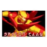 Dragon Claw Sticker