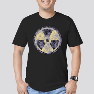 Radiation -cl-dist Men's Fitted T-Shirt (dark)