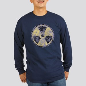 Radiation -cl-dist Long Sleeve Dark T-Shirt