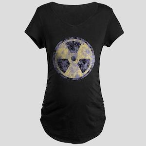 Radiation -cl-dist Maternity Dark T-Shirt