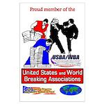 USBA/WBA Large Poster