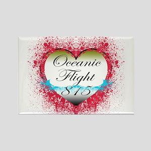 Oceanic Flight 815 Rectangle Magnet