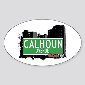Calhoun Av, Bronx, NYC Sticker (Oval)