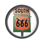 Route 666 Wall Clock
