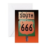 Route 666 Greeting Cards (Pk of 20)