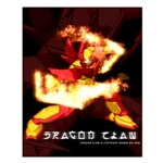 Dragon Claw Poster (small)