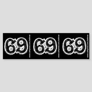 69 Sticker (Bumper)