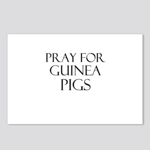 Pray For Guinea Pigs Postcards (Package of 8)