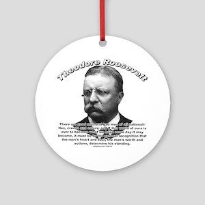 Theodore Roosevelt 01 Ornament (Round)