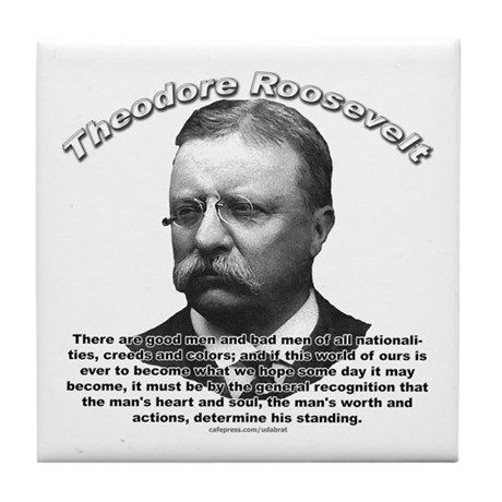 Theodore Roosevelt 01 Tile Coaster