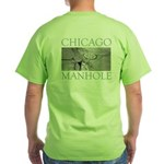 Chicago Manhole Green T-Shirt