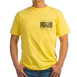 Chicago Manhole Yellow T-Shirt