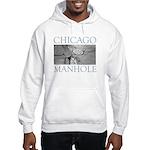 Chicago Manhole Hooded Sweatshirt