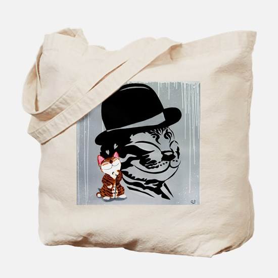 cat art - Charlie Cat Tote Bag