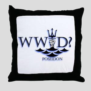 What Would Poseidon Do? Throw Pillow
