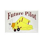 Future Pilot Rectangle Magnet (10 pack)