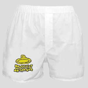 Condoms Happen (left) Boxer Shorts