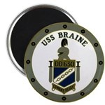 USS BRAINE Magnet