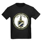 USS BRAINE Kids Dark T-Shirt