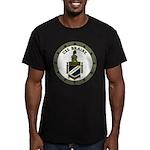 USS BRAINE Men's Fitted T-Shirt (dark)