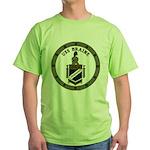 USS BRAINE Green T-Shirt