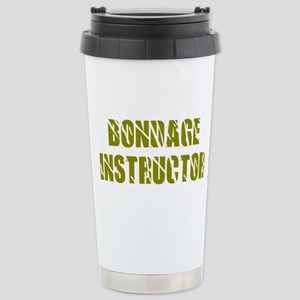 Bondage Instructor Stainless Steel Travel Mug