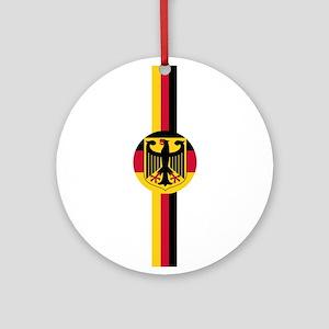 Germany Soccer Fussball SV de Ornament (Round)