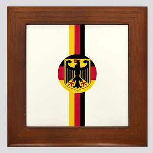 Germany Soccer Fussball SV de Framed Tile