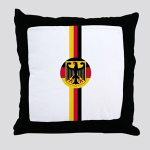 Germany Soccer Fussball SV de Throw Pillow